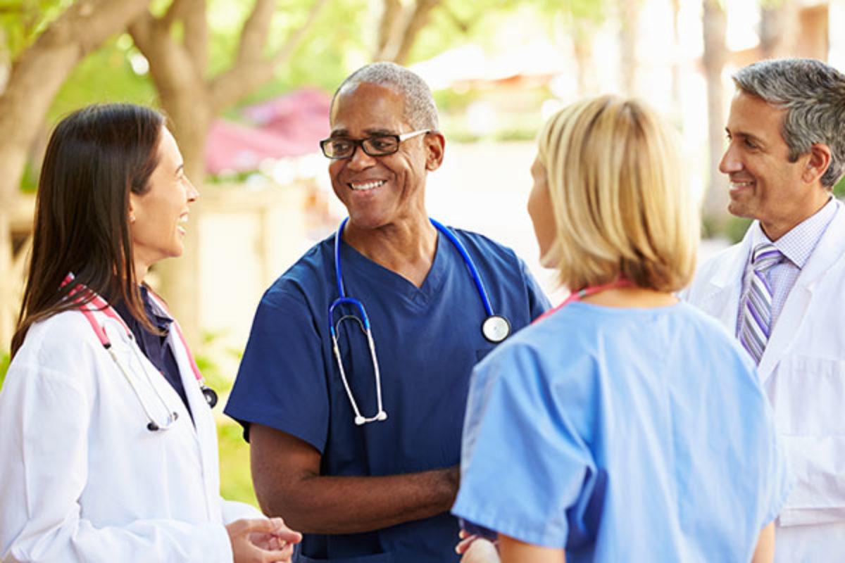 Care Staffing Nursing Discussing Doctor mentor