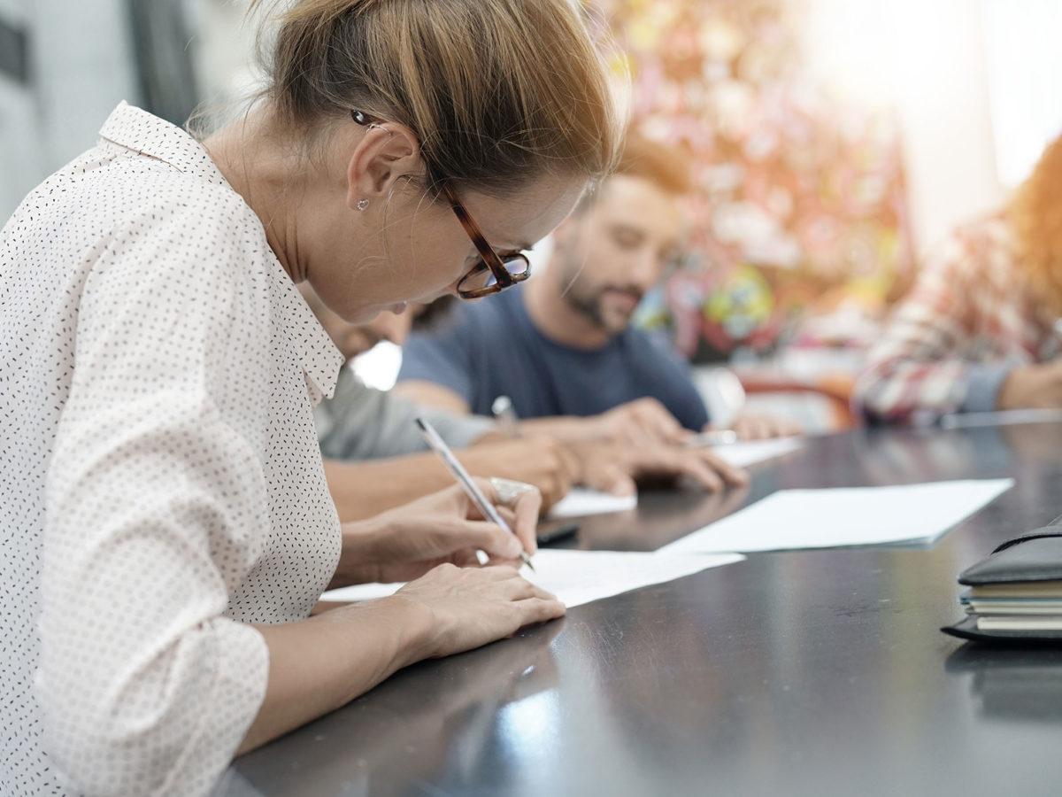 Licensing Care Staffing Professionals Forms Database Skills Assessment